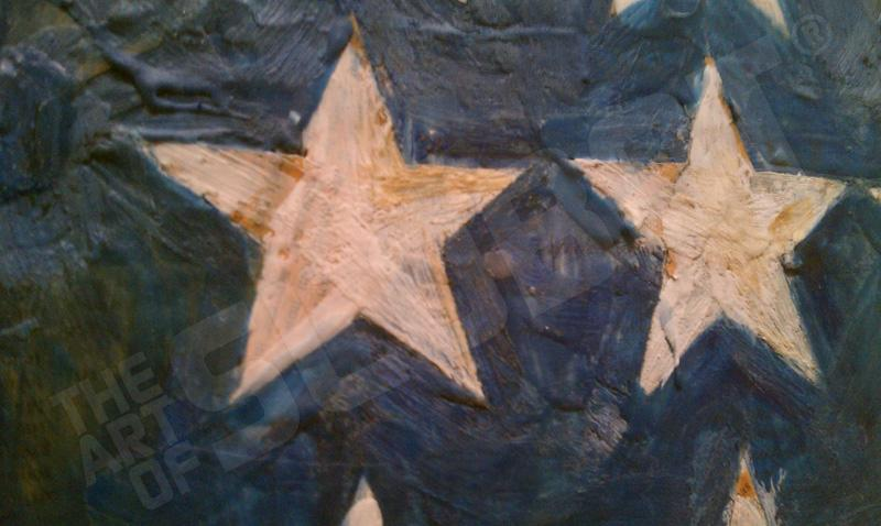 jasper john mike slobot inspiration detail stars
