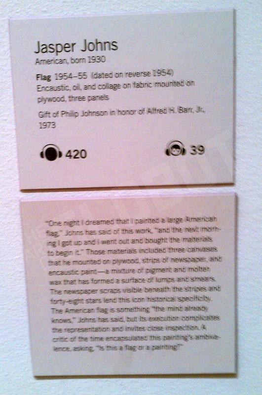 jasper john mike slobot inspiration detail 1