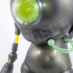Detail Mike Slobot Kidrobot Munny Vinyl Toy Robot Guardian Angel 02 Art Without Borders 2