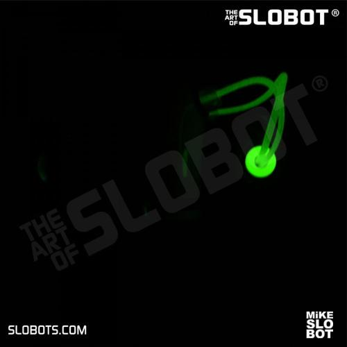 Mike Slobot Venusian Robot Soccer Coach glow in the dark