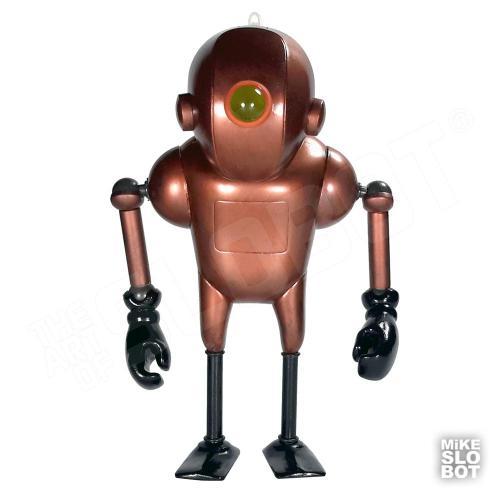 Mike Slobot Robot Sculpture Scube Steve Mk2 Front