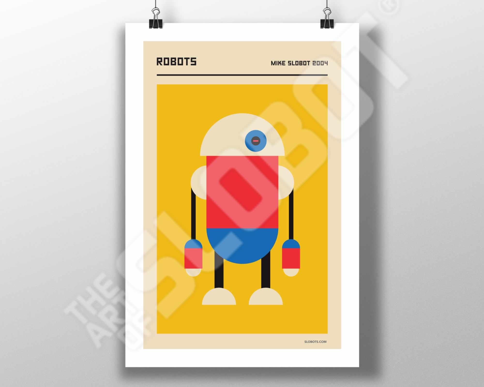 Mike Slobot Bauhaus Robot #2