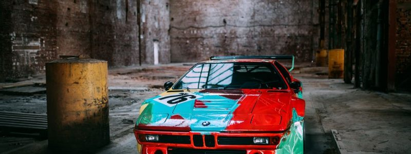BMW M1 Art Car by Andy Warhol photographed by Stephen Bauer