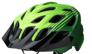 Best Bike Helmets Kali Chakra in Green Black