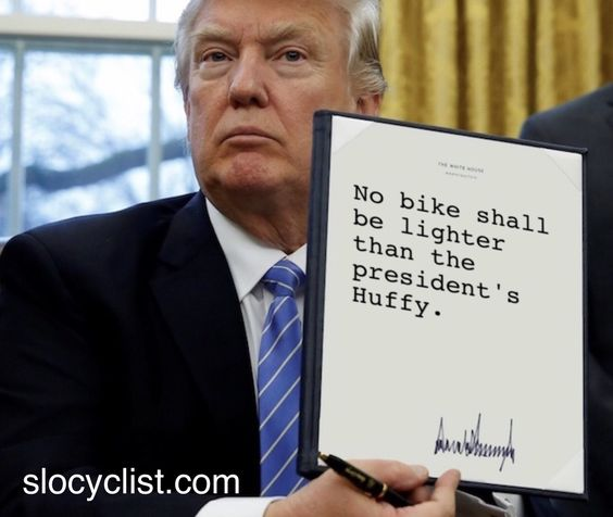 Funny Bicycle Meme executive-order-huffy-slo-cyclist-meme