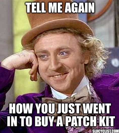 Funny Bicycle Meme wonka-meme-funny-cycling