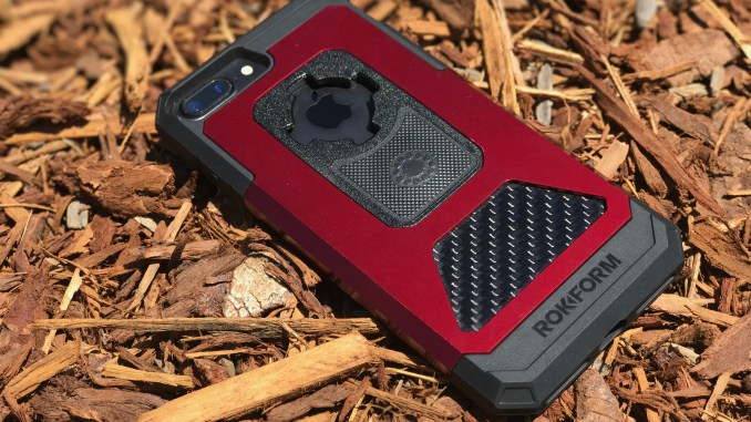 rokform fuzion pro iPhone 7 plus case in red