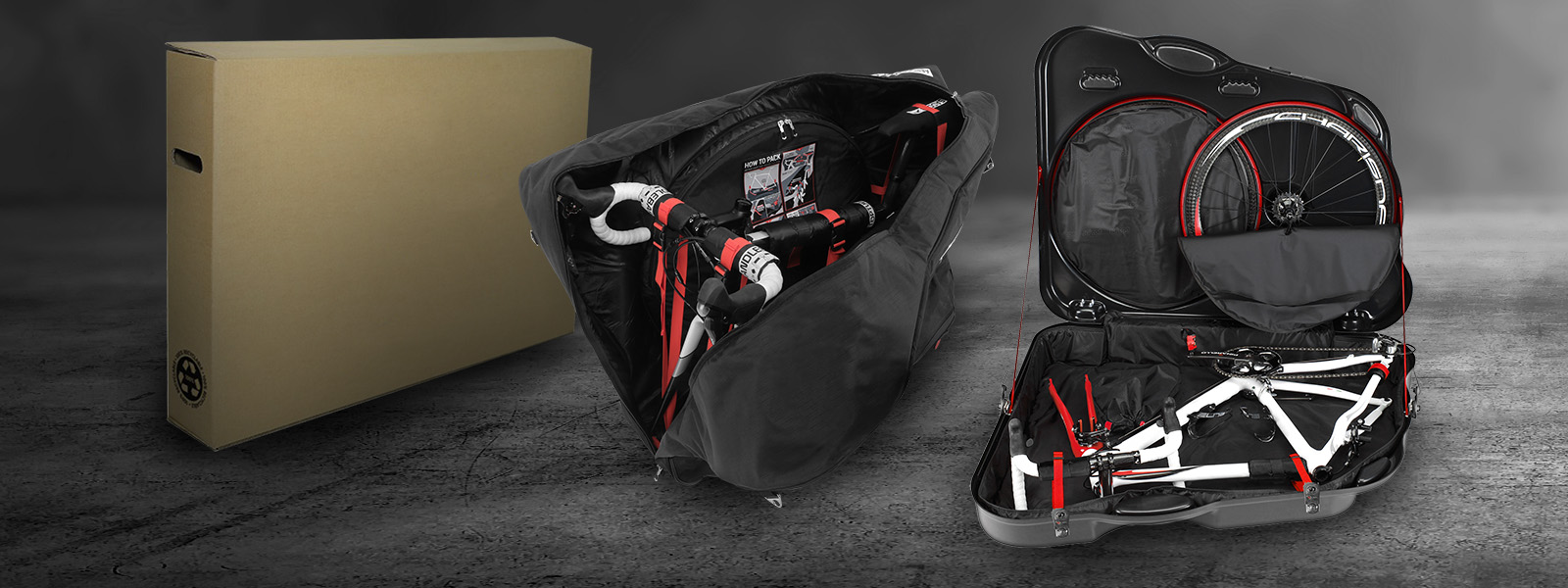 SCI Con bike bag vs box vs bike case info