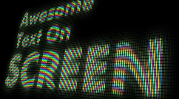 Create an Editable On Screen Text Effect using Smart Objects
