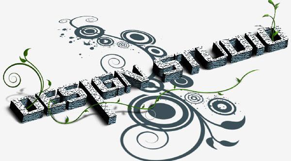 Floral 3D Text Effect