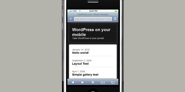 Free Mobile Themes | WordPress Free And Premium Themes & Plugins
