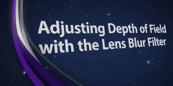 Adjusting Depth of Field