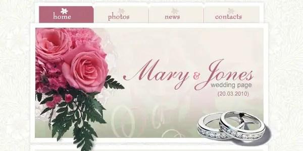 Pink Wedding Site