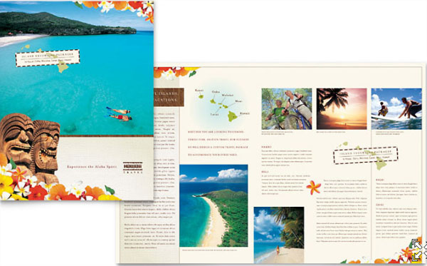 30 Killer Travel Brochure Template Designs