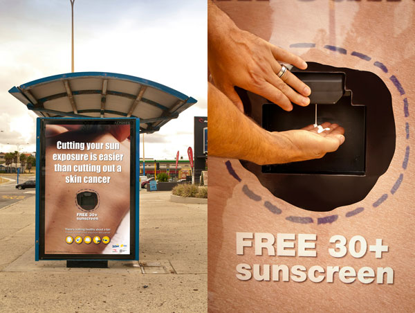 SunSmart Cancer Council Western Australia: Cut Out