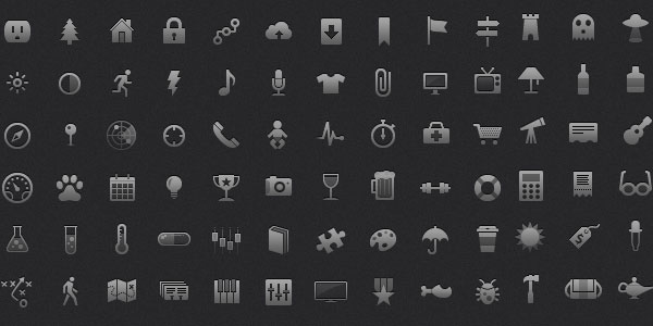 Icons for mobile apps