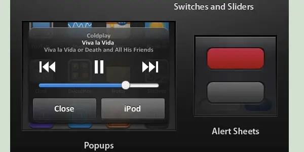 Matte iPhone UI