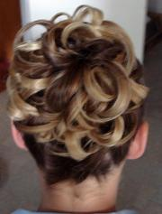 updos medium length hair