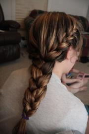 graceful french braid hairstyles
