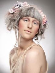 peachy medium hairstyles