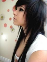 groovy emo girl hairstyles