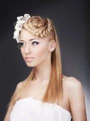 hair-raising wedding hairstyles