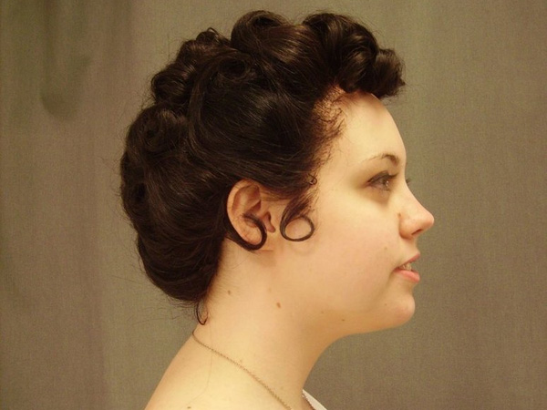 25 Cute Updos For Short Hair Which Are Lovely SloDive