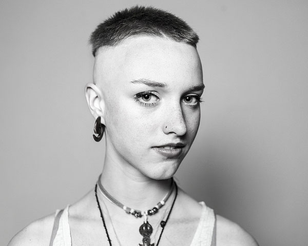 25 Glamorous Shaved Hairstyles For Women SloDive
