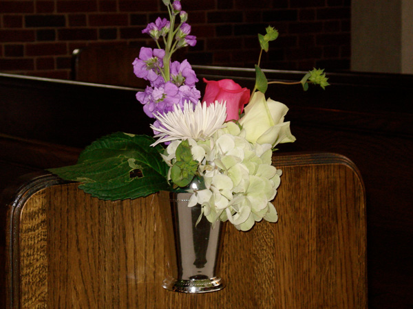 Wedding Pew Bows Church Decorations Pictures