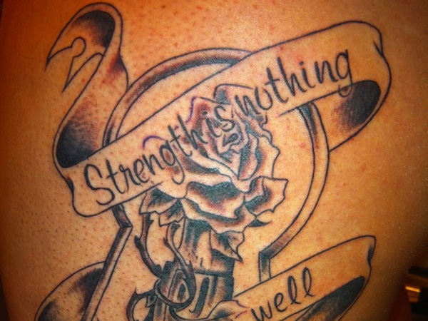 awesome strength tattoos - slodive