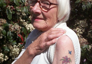 Tattoos For Older Women