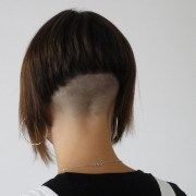 top of shaved hairstyles