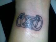 double infinity symbol design