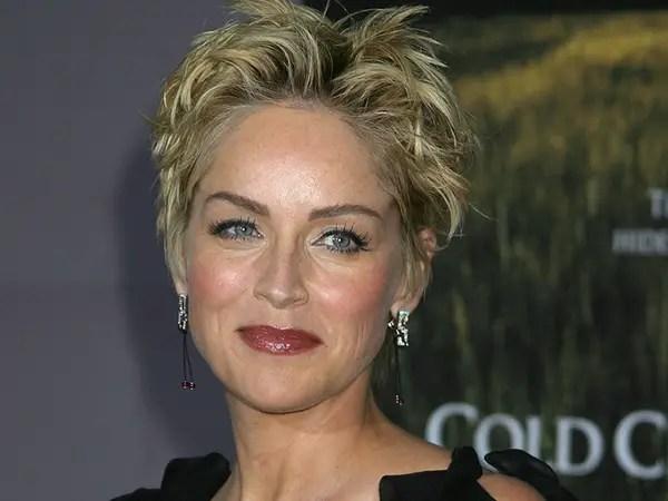 26 Encouraging Sharon Stone Short Hair Styles SloDive