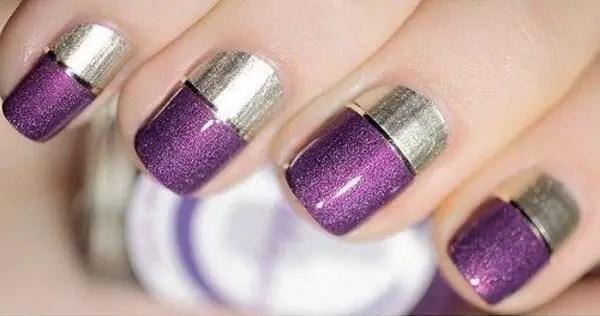 30 Pretty In Purple Nail Art Designs