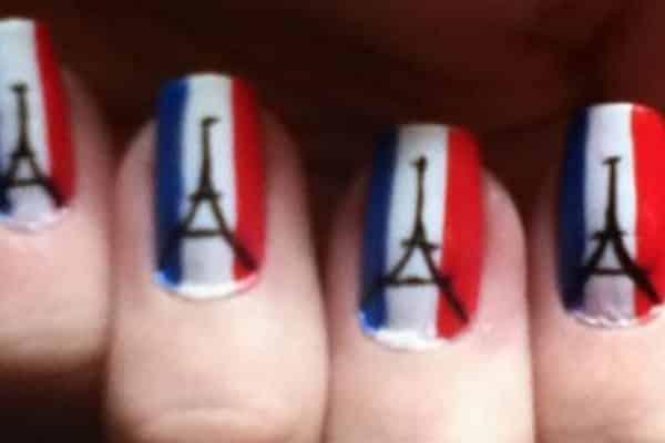 France Nail Art Image Source