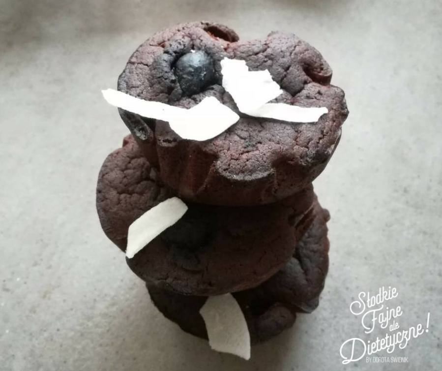 muffinki czekoladowe bezglutenowe