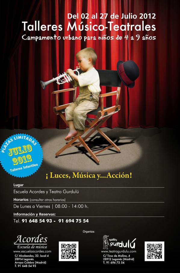 Cartel Acordes Escuela de Música
