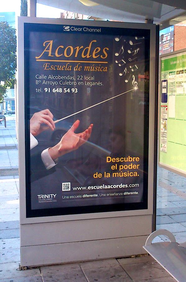 Marquesina Acordes Escuela de Música