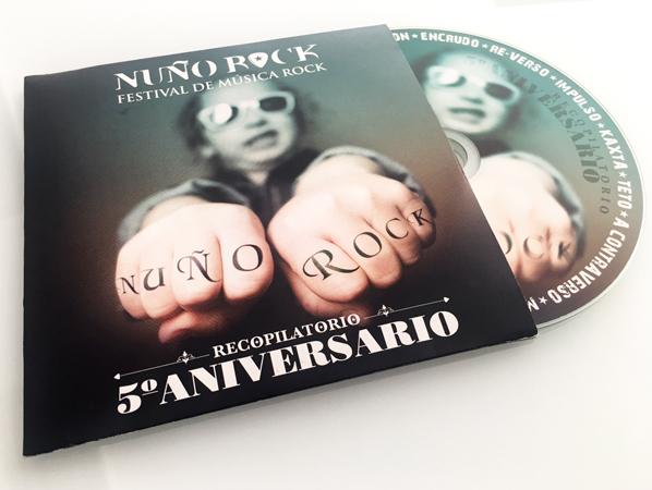 CD Recopilatorio 5 Aniversario Nuño Rock