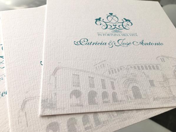 Invitación de Boda Santillana Del Mar