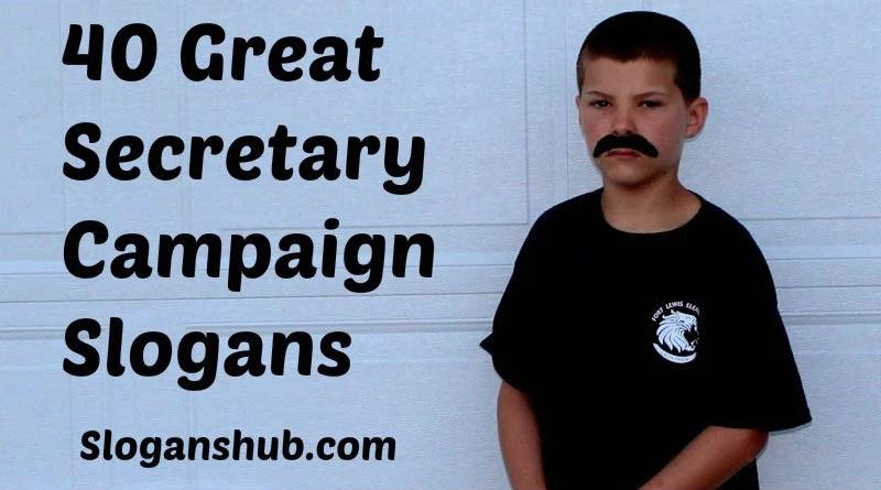 Student Slogans Secretary Campaign Council