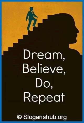 Dream Phrases : dream, phrases, Catchy, Dream, Slogans