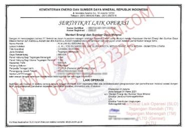 SLO TM PLN UIW Sumatera Utara