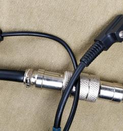 baofeng microphone connector and mini jack plug  [ 1280 x 777 Pixel ]