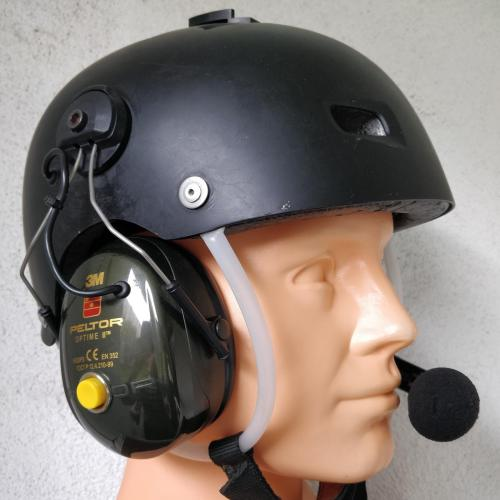 small resolution of powered flying helmet with headset