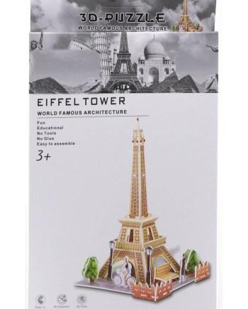 3d puzzle gradjevine eiffel tower