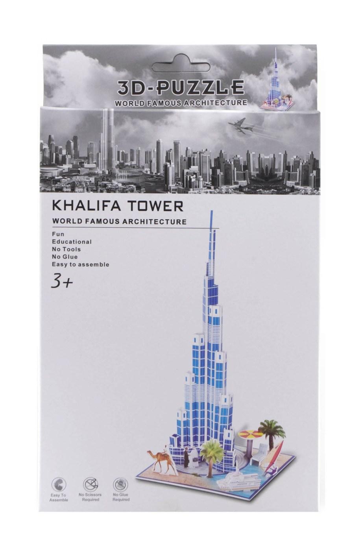 3d puzzle gradjevine khalifa tower