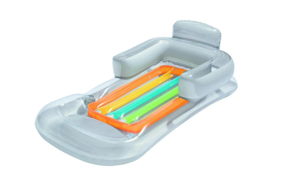 Madrac za plivanje Fotelja Designer 161x71cm. Madrac od vinila sa udobnim naslonom u obliku fotelje, naslonom za ruke i držačem za čašu.