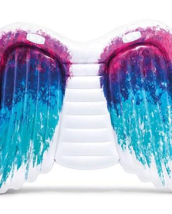 Otok Angel Wings na napuhavanje, Intex. Umjesto običnog madraca unesite nove oblike i boje ove godine na moru, plaži ili bazenu. Motiv anđeoskih krila će svih oduševiti.